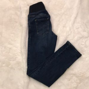 Old Navy Size 2 maternity jeans cotton polyester